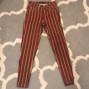 Strip Colorful stylish pants